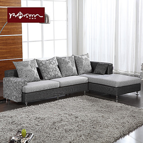 柏斯町沙发简约布艺沙发客厅组合套装家具现代布艺沙发小户型S058