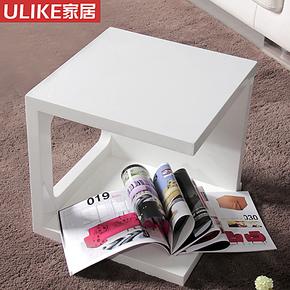 ULIKE 特价发快递 时尚书柜高光组合茶几 角几 置物架 边几