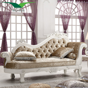 易达彼思 欧式沙发贵妃榻 古典太妃椅躺椅 品牌贵妃椅EF-351