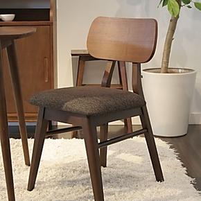 【预售】日本日式家具 橡胶木实木餐椅 江浙沪包邮(一把)