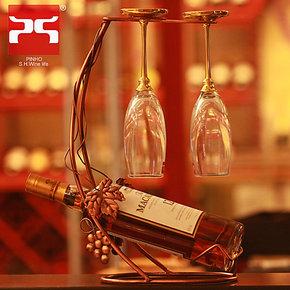 包邮铁艺创意红酒架 酒瓶架 葡萄酒杯架 酒杯架 欧式复古  香槟架