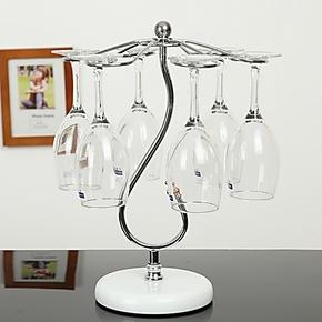 创意时尚家居摆设吊杯架倒挂杯架红酒杯架高脚杯架香槟杯架