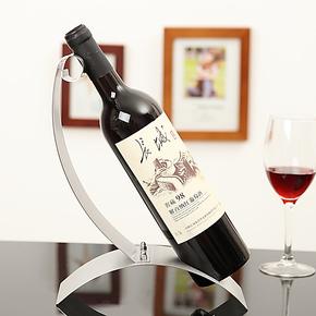 不锈钢红酒架欧式简约葡萄酒架创意酒架子时尚家居摆设工艺摆件