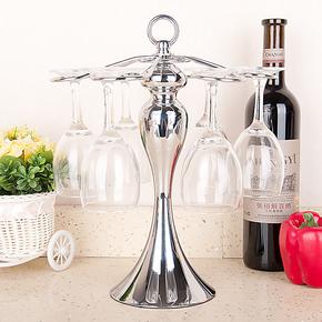 达派屋红酒吊杯架倒挂悬挂杯架高脚杯架葡萄酒杯架小酒吧台 腰形