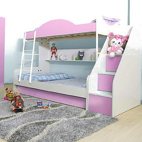 西楚儿童双层床上下床子母床高低床儿童家具母子床上下铺儿童床