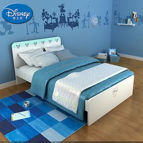 【预售】装修节迪士尼儿童单人床 男孩女孩1.2米床米奇儿童床