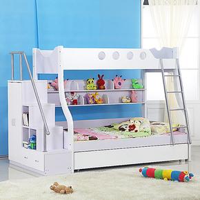 特价包邮儿童双层床子母床高低床家具套房组合母子床儿童床上下床