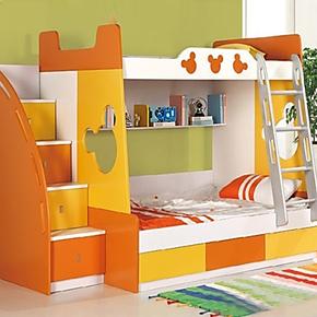 安歌里尔1.35米双层床 两层床 学生床 上下铺功能床子母床