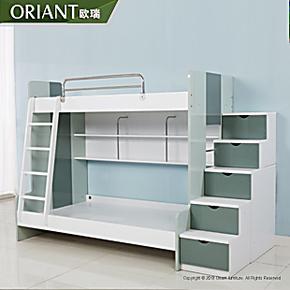 欧瑞高低子母床儿童床双层床上下床儿童高低床品牌家具C18T8-GDC