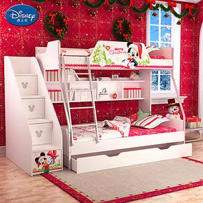 迪士尼 酷漫居 儿童床 公主床 子母床 上下床双层床 高低床米奇