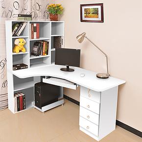 欧居美 宜家组合书桌 简约家用办公桌写字台 台式 转角电脑桌