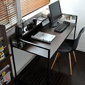 特价包邮宜家简易简约时尚 书架书桌组合写字台办公桌电脑桌子