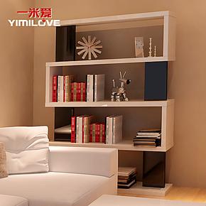 一米爱家具 简易书架置物架隔板 创意书柜储物柜自由组合9396-3