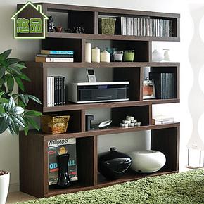 渐变三层展示柜 宜家简易自由组合书柜 特价储物柜