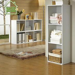 特价 自由组合玲珑书架 宜家书柜书橱置物收纳储物柜类 组合家具