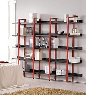 钢木结构韩式书柜书架书橱花架鞋架置物架格架简约时尚