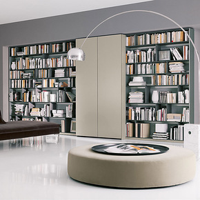 维玛家居 新款现代简约书柜组合 书房/烤漆书柜 正品特价 CSZB052