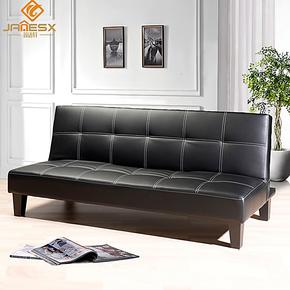 简适轩 双人多功能沙发 可折叠沙发床 小户型实木沙发床 JH079
