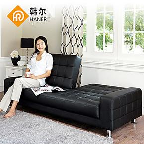 【韩尔】 韩式田园沙发 功能沙发床 1.8米 折叠沙发床 特价包邮