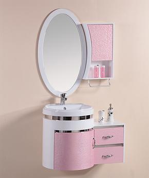 爱瑞仕卫浴柜 PVC浴室柜组合洗手台面盆梳洗柜卫生间柜浴室家具