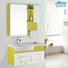 美伦艾特特价卫浴柜洗脸盆柜组合卫生间洗手盆柜PVC浴室柜6119