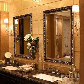 YISHARE 欧式 镜子 浴室镜 卫生间镜子/ 欧式镜子 装饰镜 5002