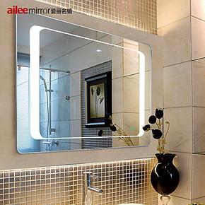 【装修节】卫生间浴室镜子LED灯镜 无框防水卫浴镜包邮DJ215