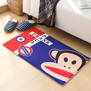 【唯米】可爱条纹大嘴猴 居家地垫 门垫 防滑浴室垫 脚垫 楼梯垫