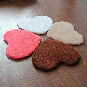 华旭 出口北欧北极貂毛绒地垫 超柔吸水浴室防滑垫 门垫脚垫地毯