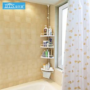 宝优妮 四层浴室角架 浴室转角架 卫浴置物架 卫生间架置物601D