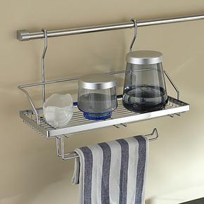 卫欲无限旗下厨欲无限 挂式双层置物架 厨房挂件厨房挂架