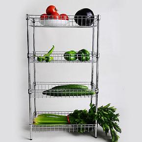 包邮4.5折 诗美嘉 厨房 置物架 蔬菜架 收纳架网篮水果架 菜架