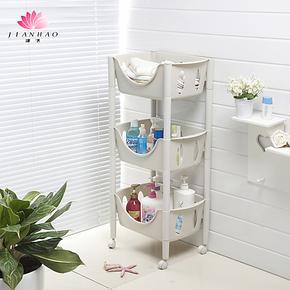 多款包邮防摔置物架厨房浴室整理收纳储物层架子日本宜家组合架