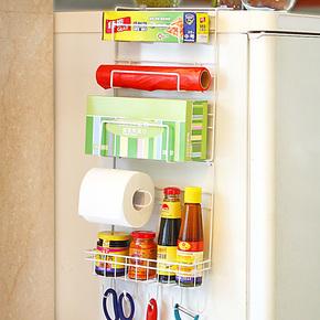 创意冰箱挂架 厨房置物架壁挂调味瓶收纳架 厨房用品 25省包邮