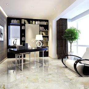 全抛釉防滑耐磨客厅地砖800*800现代简约餐厅卫生间白色冰块玉