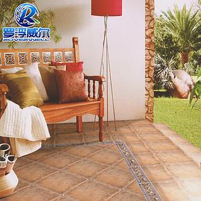 简欧式仿古瓷砖 圆角砖 田园风格地砖 客厅餐厅阳台适用500*500