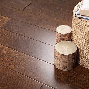 书香门地 多层实木复合地板 立体倒角 优树美地地板 圣荷西002