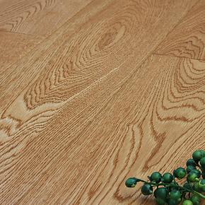 实木多层地板 橡木原木色仿古浮雕 复合实木地板地热地暖S10