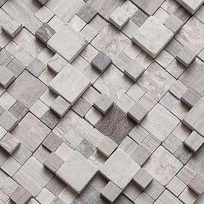 【曼非】马赛克拼图背景墙拼浮雕 石材地中海马赛克拼花长条陶瓷