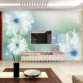 欧素 电视背景墙纸壁纸卧室客厅大型壁画 简约现代温馨无纺布画
