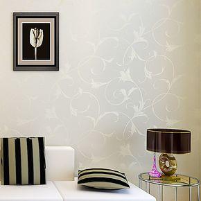 辛格无纺布墙纸电视背景墙客厅欧式壁纸卧室满铺温馨婚房田园特价