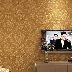 晏记墙纸 无纺布壁纸 无纺布墙纸 欧式客厅背景墙电视墙纸1001