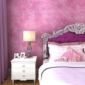 歌诗雅墙纸 卧室婚房客厅家装装修 经典怀旧艺术紫色浪漫壁纸192
