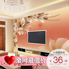 色吻 电视背景墙纸壁纸 大型壁画3D立体墙纸 客厅卧室 特价s0032