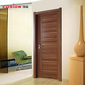 cosion可信木门卧室内门定做房间门套装门实木复合免漆门厂家直销