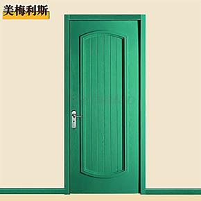 正品烤漆门 实木复合门 木门 室内套装门 房门 3套包安装 K117