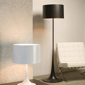 【碧得森】意大利名师设计 FLOS Spun Light F 黑色落地灯40CM