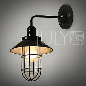 <font><font>JULY就來設計師款RH風格LOFT工業倉庫壁燈小酒馆壁燈