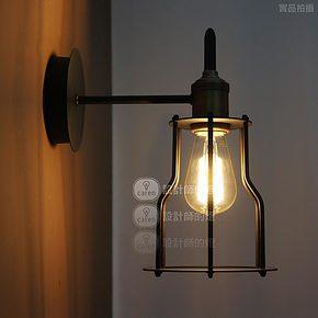 【设计师的灯】RH Loft 工业阁楼过道 北欧美式阳台 复古船舱壁灯