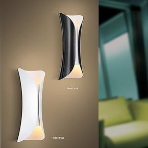 【柴火家居】简约灯具 卧室客厅书房创意 唯美工艺壁灯627/1W